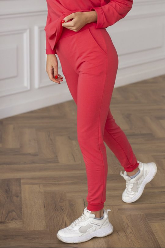 Брюки Casual Coral/ Коралловые